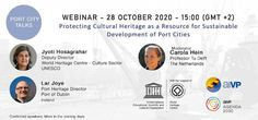 ICYMI: Webinar This Wednesday on 'Protecting Cultural Heritage as a Resource for Sustainable Development of Port Cities'