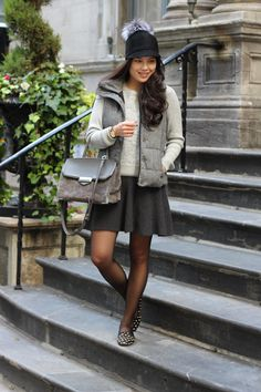 Shades of Grey - Outfit post from Toronto Blogger Jocelyn Caithness
