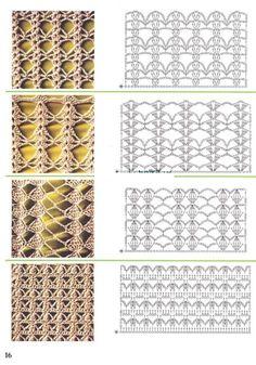 Gallery.ru / Фото #47 - образцы вязания - angebaltik