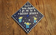 Toy Story Aliens Graduation Cap