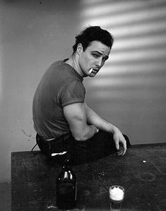 Marlon Brando. Photographer unknown.