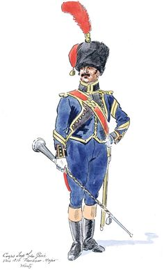 French; Imperial Corps of Engineers, Drum-Major, c.1810