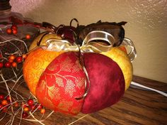 Cute and easy fabric #pumpkin