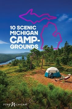Lansing Cotton Camping ligger 8 miles norr om Mason på kanten av Lansing, Michigan.