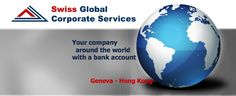 Your company around the world with a bank account