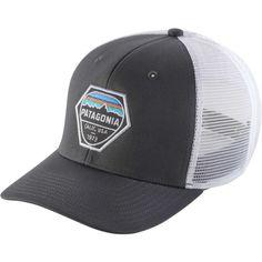 798f094e862 Patagonia Men s Fitz Roy Hex Trucker Hat