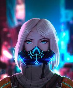 ArtStation - Art Book for a Cyberpunk, Kiba Aodhan Cyberpunk Kunst, Cyberpunk Anime, Cyberpunk Girl, Cyberpunk Fashion, Cyberpunk 2077, Arte Dope, Cyberpunk Aesthetic, Neon Aesthetic, Sci Fi Characters
