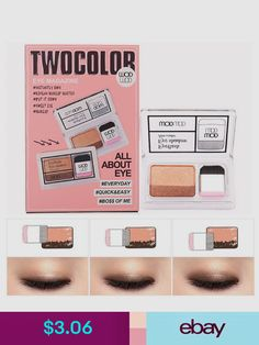 Beauty & Health Icycheer Makeup Magazine Lazy Eyeshadow Stamp Holiday Edition Eye Shadow Double Color Shimmer Palette Long Lasting Natual Nude