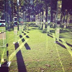 Get Lost In A Spectacular Maze Of Mirrors In A Sydney Park