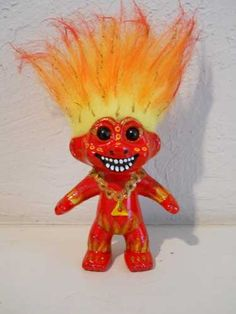 Element Troll ~ Fire from Ant Farm Studio. He needs a good home! Tell Kim that Gypsy sent you ;)