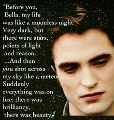 Edward is so much better in the books.