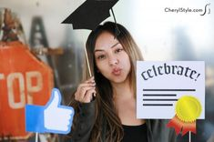 Printable Graduation Photo Booth Props - Fun Family Crafts
