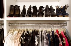 Believe us, you wish your closet looked this good.