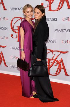 The Olsen twins at the CFDA Awards in NYC, June 4th