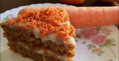 Vegan Carrot cake. My absolute favorite!