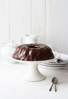 Chocolate cake with a secret ingredient: mashed potatoes
