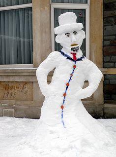 Snowman | Flickr