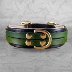 dog collar leather, dog collars, galleri, leather collar, california collar, person dog, collar leash