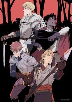 fanart :: Knights Errant by ReroPumpkin