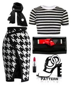 """!!!"" by maria-laura-correa-da-silva ❤ liked on Polyvore featuring Chicwish, Topshop, Kat Maconie, SCENERY, Giorgio Armani and MAC Cosmetics"