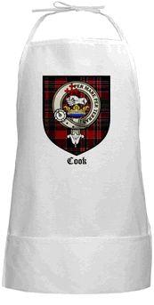 Scottish Clan Crest & Tartan Apron