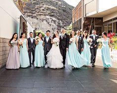 Real Wedding featured in Ceremony Magazine! DPark Photography via CeremonyMagazine.com