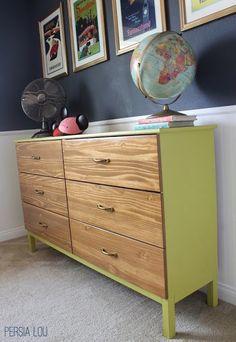 Tarva to Midcentury Modern Dresser - IKEA Hackers