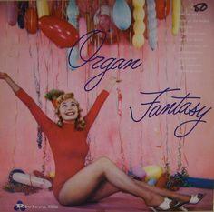 Organ Fantasy #Vintage #Vinyl #LP #Record #Album