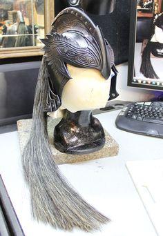 Elven Knight Preview by Azmal.deviantart.com  (Fantasy Leather Helmet)