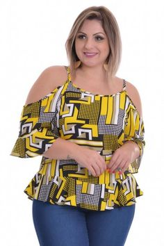 Blusa Plus Size Urban City