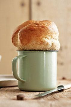 "Beker-potbrood | SARIE | ""Potbrood"" bread in a cup"