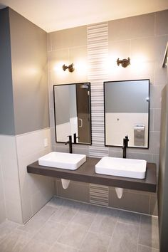 Sarazin Project: Commercial Project Reveal | Restroom Edition | EH Design #bathroom #bathroomdesign #bathroomtile