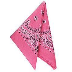Pink Bandanas for a Sheriff Callie's Wild West Party