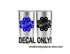 Yeti 20oz Decal / Yeti Tumbler 20 oz / Yeti by CreationsbyADavis