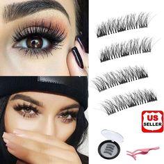 0073e9fb56e Natural Eyelashes, False Eyelashes, Makeup Palette, Eyeshadow Palette,  Eyelash Sets, Magnetic