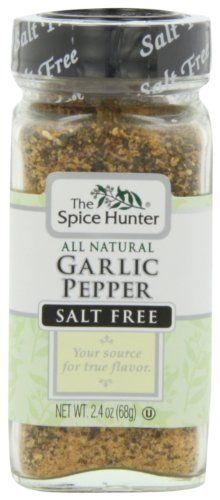 The Spice Hunter Pepper, Garlic Blend, 2.4-Ounce Jar - http://spicegrinder.biz/the-spice-hunter-pepper-garlic-blend-2-4-ounce-jar/