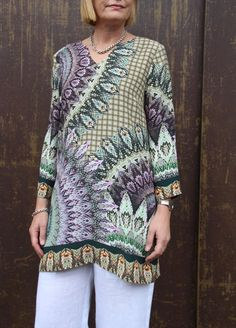 Sew Tessuti Blog - Sewing Tips & Tutorials - New Fabrics, Pattern Reviews: Introducing our NEW Maggie Tunic Pattern