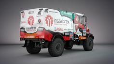 Instaforex Loprais Team De Rooy - Aleš Loprais (Iveco PowerStar offroad) - design for Dakar 2016 4x4, Offroad, Monster Trucks, Design, Autos, Rally, Off Road