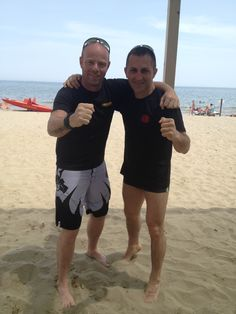Dan Oren e Fabrizio Carro. #IKMF #IKMFMilano #IKMFKravMagaMilano