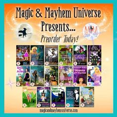 Coming to an e-reader near you! 17 talented authors with 17 magically delicious tales to tell! Preorder Today!!! #MagicMayhemUniverse #ebook #pnr #preorder