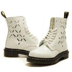 Dr Martens Mens skor 1460 Hollow Vita Utförsäljning , Billiga Dr Martens skor 1460 försäljning , njuta snabb leverans .