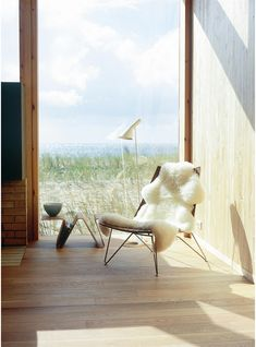 Fjordfiesta is an Norwegian furniture label that stands for timeless unique Scandinavian design as well as outstanding quality furniture. Sheep Leather, Modern Shop, Butterfly Chair, Dark Brown Leather, Quality Furniture, Outdoor Furniture, Outdoor Decor, Scandinavian Design, Seat Cushions