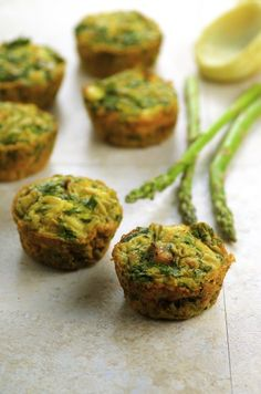 Asparagus Artichoke Frittatas - May I Have That Recipe