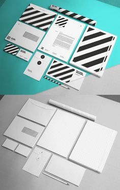 Creative Branding Stationery Invoice Design, Letterhead Design, Branding Design, Psd Templates, Brochure Template, Envelope Design, Stationery Items, Business Branding, Graphic Design