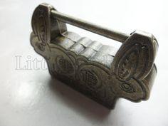 Home Drawer Antique Jewelry Box Metal Lock Padlock Rabbit Design Lock