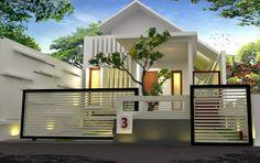 klinik arsitektur, Ragam Gaya (Style): Art Deco, Classic, Country, Contemporary, Ethnic, Mediterran: rumah di Riau dengan lahan terbatas Ramah lingkung...