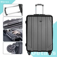 Amazon.com | Merax 3 Piece P.E.T Luggage Set Eco-friendly Light Weight Spinner Suitcase | Luggage Sets Best Luggage, Luggage Sets, Best Suitcases, Spinner Suitcase, Business Travel, 3 Piece, Traveling By Yourself, Eco Friendly, Amazon