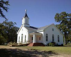 Country Church ~ Alabama