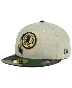 dfa58323a1947 New Era Washington Redskins Oatwood 59FIFTY Cap Washington Redskins
