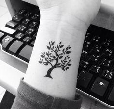 Tree of Life on Wrist